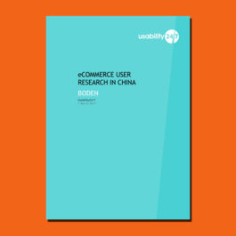 eCommerce User Reseach in China – Boden