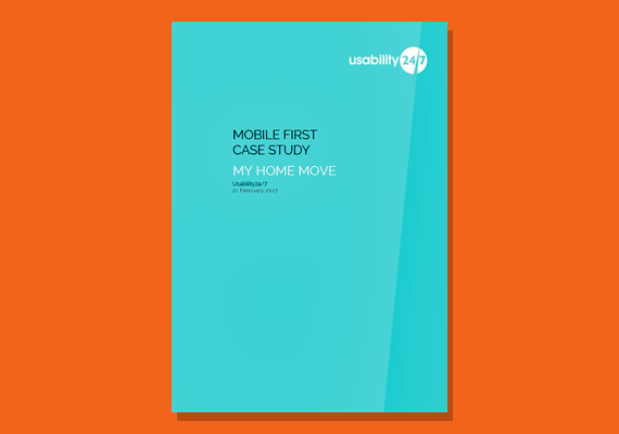 mobile first casestudy my home move