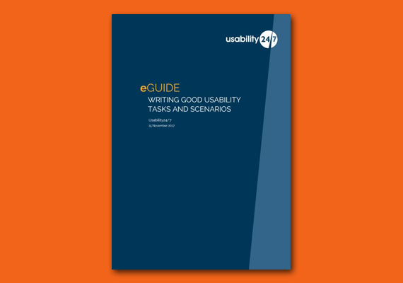 EGuide: Writing Good Usability Tasks And Scenarios